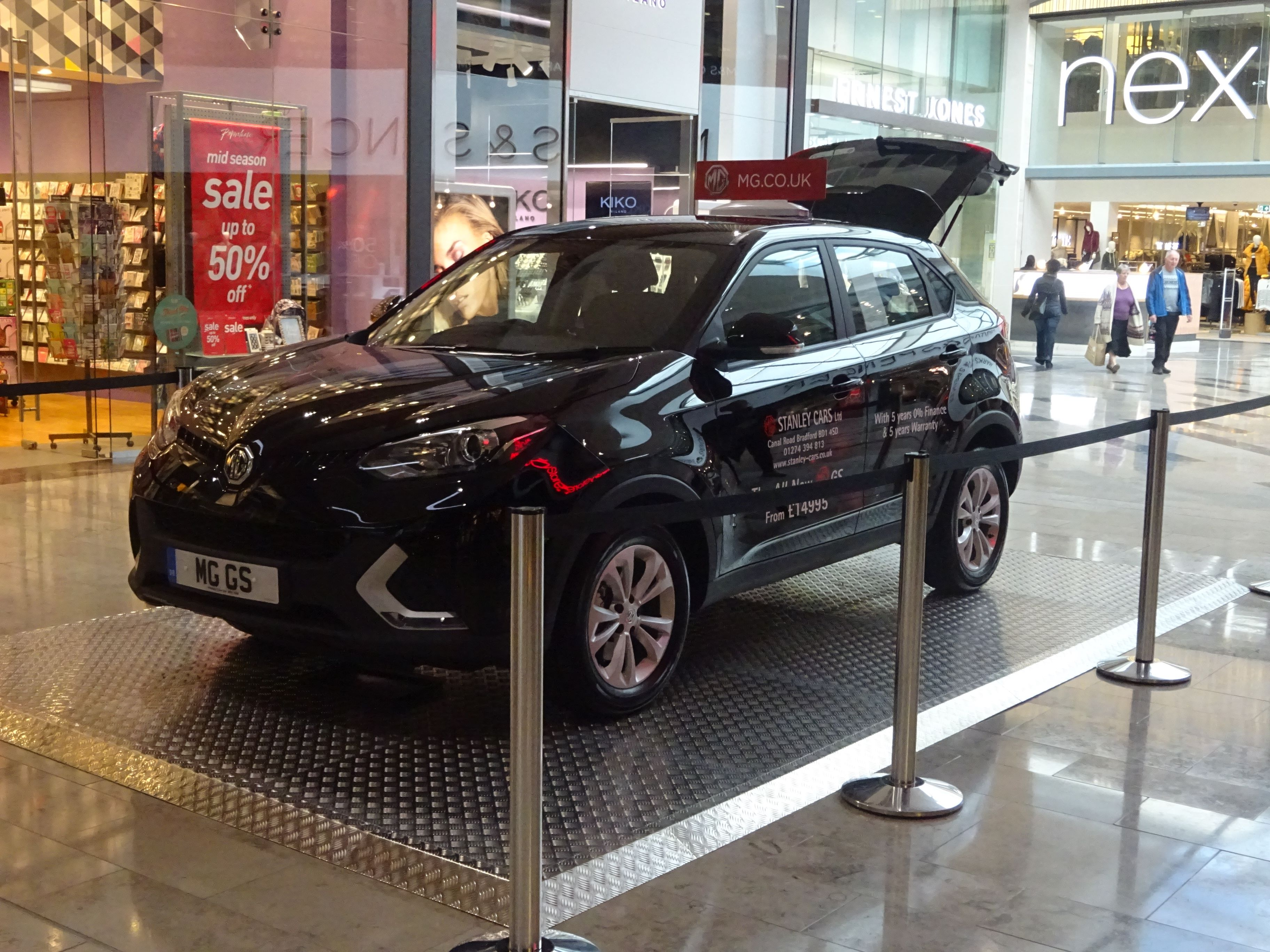 MG at the Broadway Shopping Centre